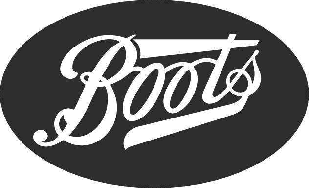 Boots' logo, a health and beauty retailer and pharmacy chain in the United Kingdom