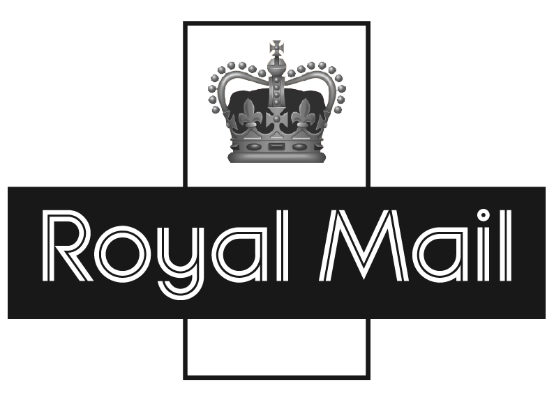 Royal Mail's logo, is a British postal service and courier company.